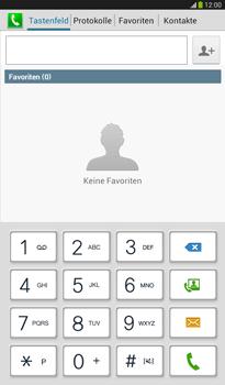 Samsung T211 Galaxy Tab 3 7-0 - Anrufe - Rufumleitungen setzen und löschen - Schritt 4