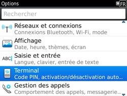 BlackBerry 9780 Bold - Paramètres - Reçus par SMS - Étape 4