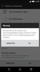 HTC Desire 620 - Fehlerbehebung - Handy zurücksetzen - 9 / 11