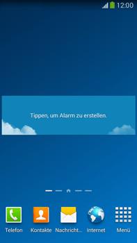 Samsung Galaxy Note III LTE - Startanleitung - Installieren von Widgets und Apps auf der Startseite - Schritt 9