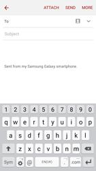 Samsung J500F Galaxy J5 - E-mail - Sending emails - Step 5