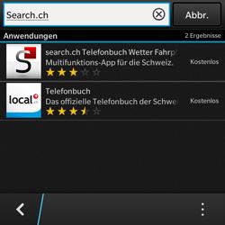 BlackBerry Q10 - Apps - Installieren von Apps - Schritt 11