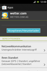 Sony Xperia E - Apps - Herunterladen - 2 / 2