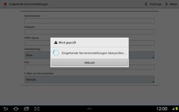 Samsung P5100 Galaxy Tab 2 10-1 - E-Mail - Konto einrichten - Schritt 10