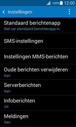 Samsung G357 Galaxy Ace 4 - SMS - handmatig instellen - Stap 6