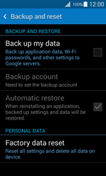 Samsung G357 Galaxy Ace 4 - Device - Factory reset - Step 6