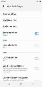 Samsung galaxy-a6-sm-a600fn-ds-android-pie - SMS - Handmatig instellen - Stap 7