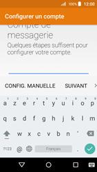 Acer Liquid Z320 - E-mail - configuration manuelle - Étape 6