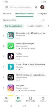 Samsung Galaxy A42 5G - Applications - Télécharger une application - Étape 7