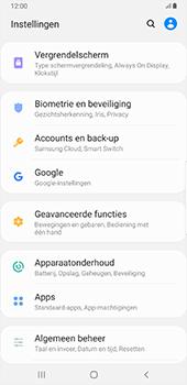 Samsung galaxy-note-8-sm-n950f-android-pie - Instellingen aanpassen - Back-up maken in je account - Stap 4