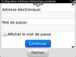 BlackBerry 9320 Curve - E-mail - Configuration manuelle - Étape 8