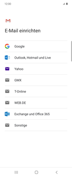 Samsung Galaxy Z flip - E-Mail - 032b. Email wizard - Yahoo - Schritt 8