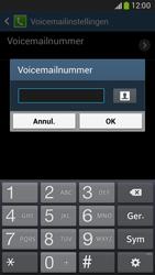 Samsung Galaxy Core LTE 4G (SM-G386F) - Voicemail - Handmatig instellen - Stap 8