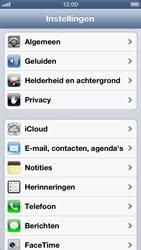 Apple iPhone 5 - E-mail - Handmatig instellen - Stap 3