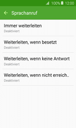Samsung Galaxy J1 (2016) - Anrufe - Rufumleitungen setzen und löschen - 9 / 13