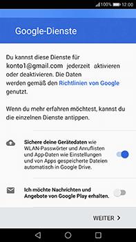 Huawei P10 Plus - Apps - Einrichten des App Stores - Schritt 16