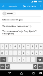 Sony E2303 Xperia M4 Aqua - e-mail - hoe te versturen - stap 9