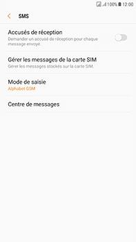 Samsung Galaxy J7 (2017) - SMS - Configuration manuelle - Étape 11