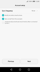 Huawei Y6 (2017) - E-mail - Manual configuration (outlook) - Step 9