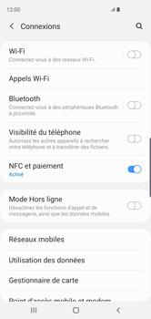 Samsung Galaxy S10 - Réseau - Comment activer une connexion au réseau 4G - Étape 5
