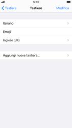 Apple iPhone SE (2020) - Operazioni iniziali - Come aggiungere una lingua alla tastiera - Fase 8