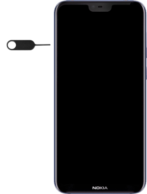 Nokia 6.1 Plus - SIM-Karte - Einlegen - Schritt 2