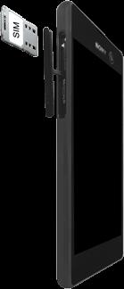 Sony E5603 Xperia M5 - SIM-Karte - Einlegen - Schritt 4