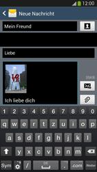 Samsung I9505 Galaxy S4 LTE - MMS - Erstellen und senden - Schritt 22