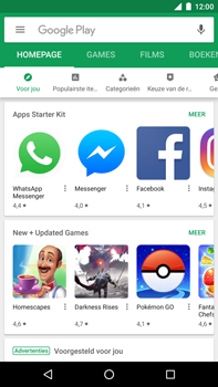 Huawei Nexus 6P - Android Oreo - Applicaties - Download apps - Stap 4