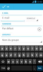 Bouygues Telecom Bs 401 - Contact, Appels, SMS/MMS - Ajouter un contact - Étape 9