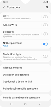 Samsung Galaxy A10 - Internet et connexion - Utiliser le mode modem par USB - Étape 5