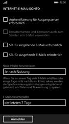 Nokia Lumia 930 - E-Mail - Manuelle Konfiguration - Schritt 17