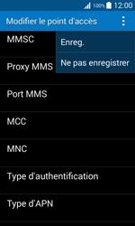 Samsung G318H Galaxy Trend 2 Lite - MMS - configuration manuelle - Étape 16