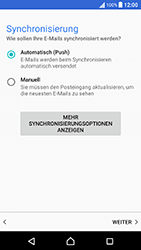 Sony Xperia X Performance - E-Mail - Konto einrichten (outlook) - 13 / 18