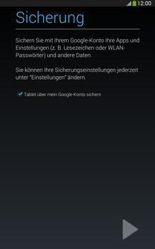 Samsung T315 Galaxy Tab 3 8-0 LTE - Apps - Konto anlegen und einrichten - Schritt 22