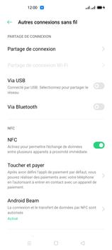 Oppo Reno 4 - Internet et connexion - Utiliser le mode modem par USB - Étape 7