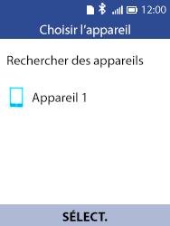 Alcatel 3088X - Photos, vidéos, musique - Envoyer une photo via Bluetooth - Étape 14