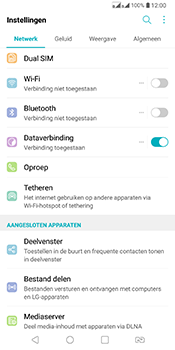 LG Q7 - Internet - Handmatig instellen - Stap 4