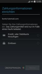 Samsung Galaxy A5 - Apps - Konto anlegen und einrichten - 20 / 22