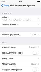 Apple iPhone 5s iOS 8 - E-mail - e-mail instellen (yahoo) - Stap 10