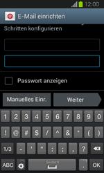 Samsung Galaxy Express - E-Mail - Manuelle Konfiguration - Schritt 6