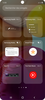 Samsung Galaxy A71 - Applications - Personnaliser l