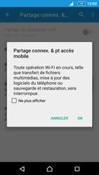 Sony Xperia Z5 Compact - Internet et connexion - Partager votre connexion en Wi-Fi - Étape 13