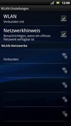 Sony Ericsson Xperia X10 - WLAN - Manuelle Konfiguration - Schritt 9