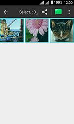 Alcatel U3 - Photos, vidéos, musique - Envoyer une photo via Bluetooth - Étape 8
