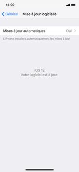 Apple iPhone X - iOS 12 - Appareil - Mises à jour - Étape 7