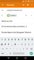 Crosscall Core X3 - E-mails - Envoyer un e-mail - Étape 10