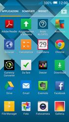 Alcatel Pop C7 - Operazioni iniziali - Installazione di widget e applicazioni nella schermata iniziale - Fase 3