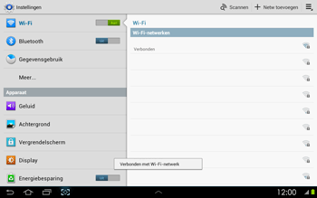 Samsung P5100 Galaxy Tab 2 10-1 - WiFi - Handmatig instellen - Stap 8