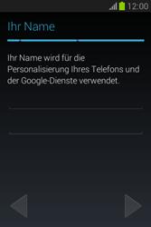 Samsung Galaxy Fame Lite - Apps - Einrichten des App Stores - Schritt 8